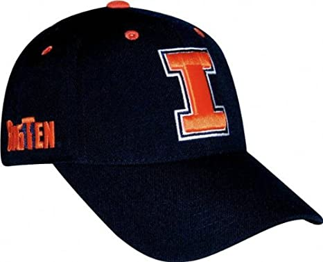 super popular a05c9 93e74 Image Unavailable. Image not available for. Color  Illinois Fighting Illini  Adjustable Triple Conference Hat