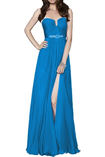 trapecio Azul mujer para DressyMe 36 azul Vestido SF5qwIwxP