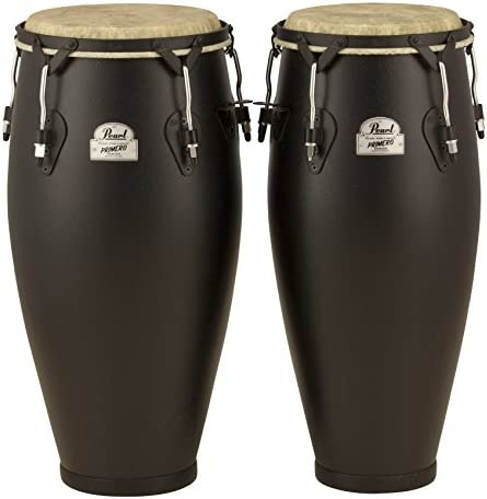 Pearl PFC202EDU649 10-Inch and 11-Inch Primero Field Percussion Fiberglass Conga Set without Stand
