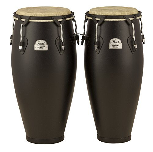 Pearl PFC202EDU649 10-Inch and 11-Inch Primero Field Percussion Fiberglass Conga Set without Stand (Conga Pearl)