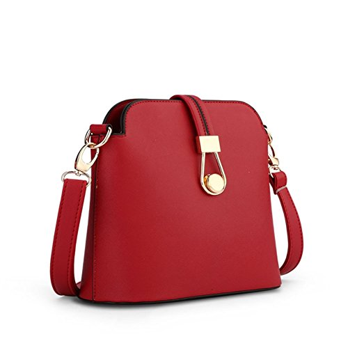 Cloudbag HB30081 PU Leather Handbag for Women,Fashion Solid Shoulder Bags