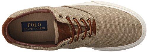 Polo Ralph Van Mensen Lauren Vaughn Lace-up Sneaker Tan