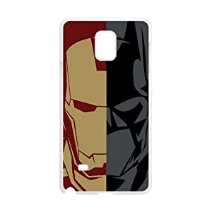 Batman and Iron Man Cell Phone Case for Samsung Galaxy Note4