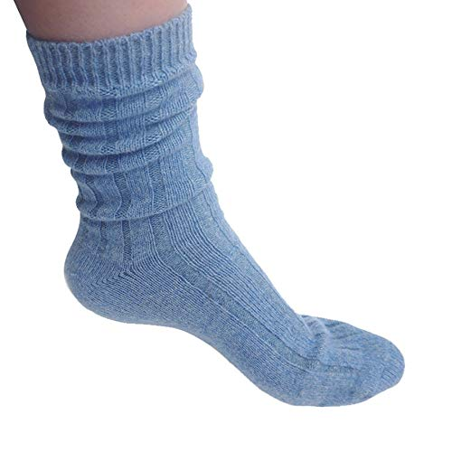 State Cashmere Sleep Socks 100% Pure Cashmere Super Soft Bed Socks for Women