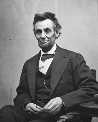 New 8x10 Photo : Last Photo of President Abraham Lincoln