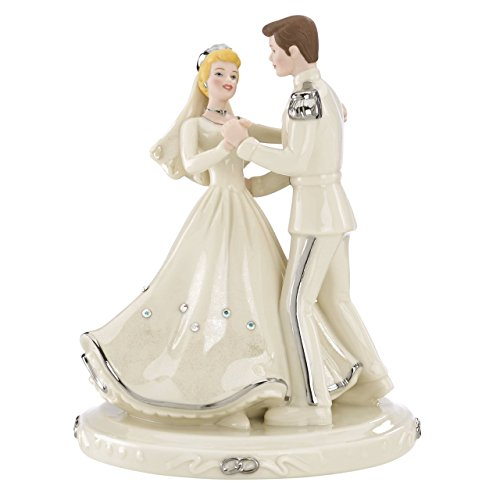 Lenox Classics Disney's Cinderella & Prince Platinum Cake -