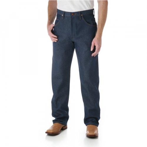 Cowboy Jeans Denim Wrangler (Wrangler Men's Big Original Cowboy Cut Relaxed Fit Jean, Navy, 44x30)