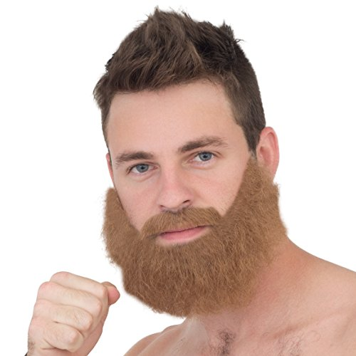 Adult Deluxe Ginger Beard Figther Cosplay Costume Accessory