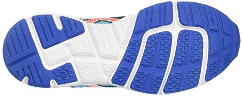 Asics Gel-Zaraca 5 Gs, Zapatillas de Gimnasia Unisex Niños Turquesa (Aquarium/flash Coral/classic Blue)