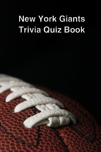 New York Giants Trivia Quiz Book ebook