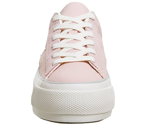 Converse 560987c Ox Star Rosa Sneakers Platform Rosa One bianco rFvxrS4