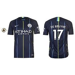 Manchester City F.C. Maillot Enfant 2018-2019 Away PL De Bruyne 17
