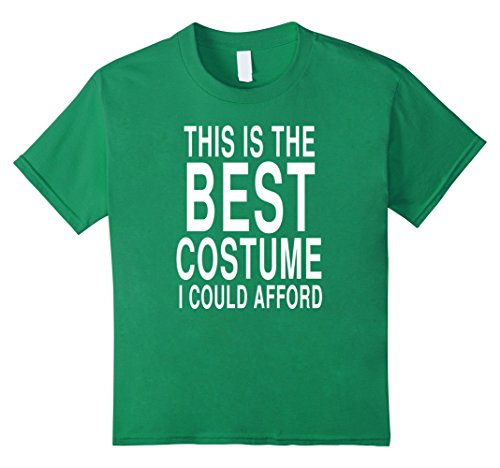 Kids Funny Last Minute Costume For Halloween: Joke T-Shirt 10 Kelly (Last Minute Halloween Costumes For Kids)