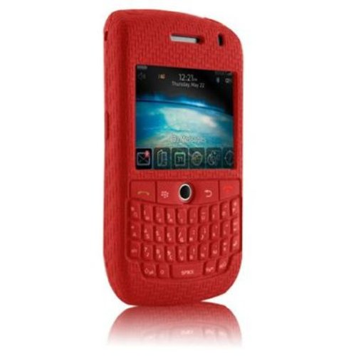Case-Mate Smart Skin Case for BlackBerry Curve 8900 - Red