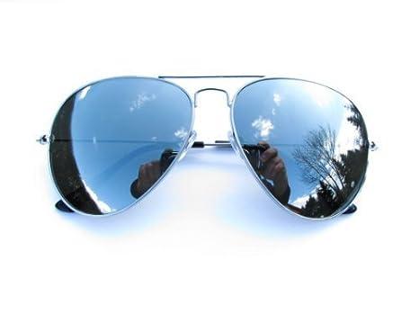 Alpland SPIEGELBRILLE Fliegerbrille Pilotenbrille - voll verspiegelt pChjN9