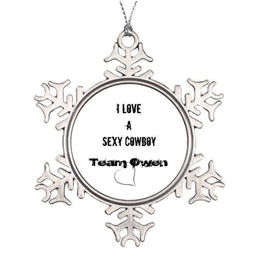 Snow Shiv (Personalised Christmas Tree Decoration Shiv Crew Laken Cane Waterford Christmas Snowflake Ornaments)