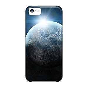LJF phone case [CmptmwQ6478oXvWd] - New Light Abstract Stars Galaxies Planets Protective Iphone 5c Classic Hardshell Case