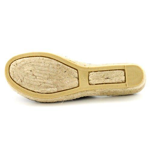 Scarpa Aperta Piattaforma Tesa Scarpa Aperta Sandalo Sintetico Nero