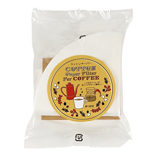 【3packs Set】cotton Coffee Paper Filter, White, Favorite Coffee Stf-01e [Total 180 Seets] Made in Japan [Import Japan] by Favorite  Coffee