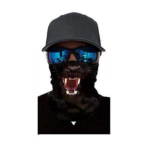 FEDULK 3D Animal Funny Balaclava Face Mask Outdoor Cycling Motorcycle Skiing Snowboarding -