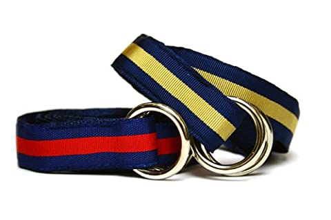 Barrons-Hunter Grosgrain Stripe Belt