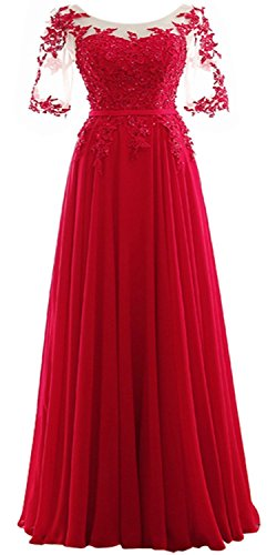 plus size Prom Dress solver Chiffon US18W Red (Plus Size Stores)