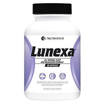 Lunexa - All Natural Daily Sleep Formula for Deep Relaxing Sleep and Stress Relief