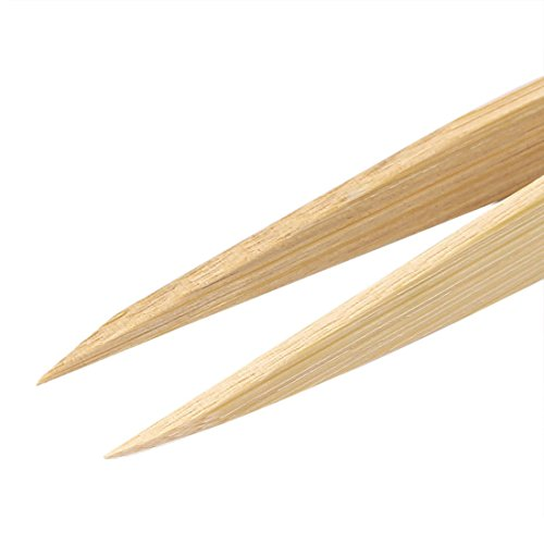 dealmux-bamboo-nonslip-anti-static-pointed-tip-tweezer-repair-tool-3pcs