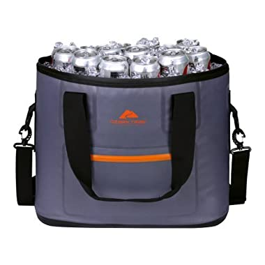 OZARK Trail High-Performance Portable Cooler Tote - Keeps Drinks Cold For 3 Days - Fits 36 Cans - Hold 30lbs Of Ice