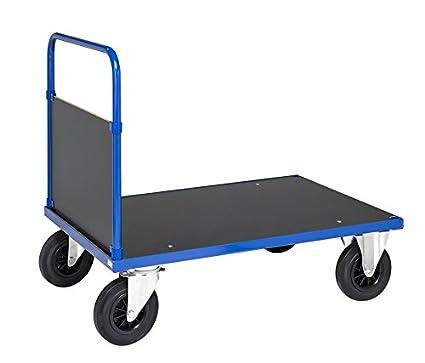 Carrito de transporte kommi sionier carro carro de taller electrolítico galvanizado suelo de melaminbeschichteter DM,