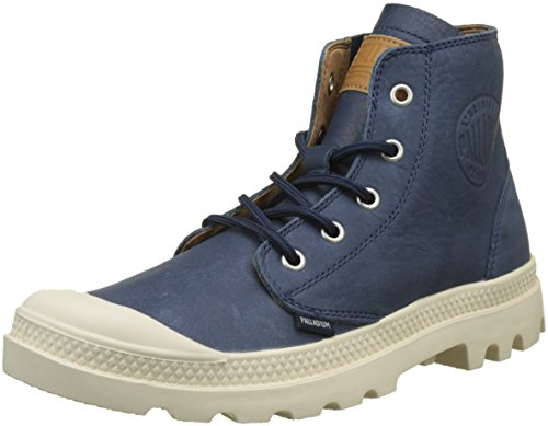 Collo Hi Unisex Sneaker Unlined Palladium Leather Pampa Alto a wgRHHqYn