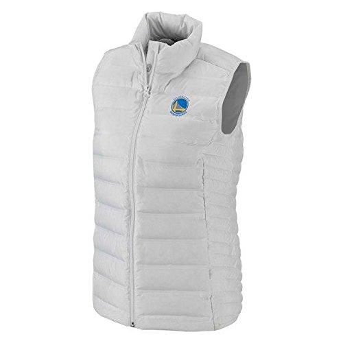 法律によりデマンドもっともらしいColumbia Columbia Golden State Warriors Women's White Lake 22 Down Full-Zip Vest アウターウェア ジャケット/アウター 【並行輸入品】