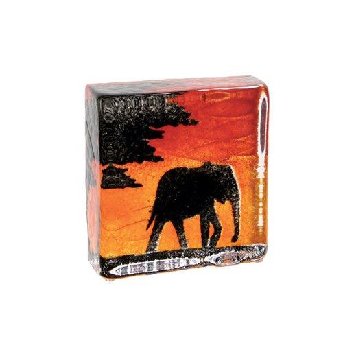Caithness Glass Sarah P Art Glass Safari Sandcast Briefbeschwerer, Schwarz   Orange   Rot B00EKKD6DO | Feine Verarbeitung