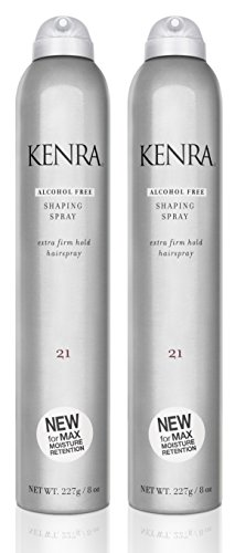 Finishing Shaping Spray (Kenra Shaping Spray #21, 55% VOC, 8-Ounce (2-Pack))