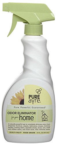 PureAyre – All-Natural Plant-Based Home Odor Eliminator – Pure, Powerful, and Completely Safe – 14 Ounces -