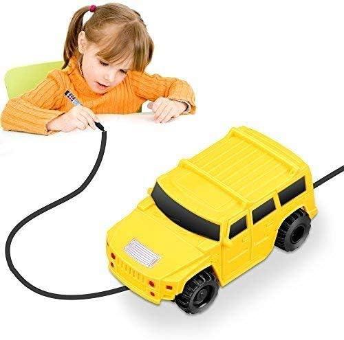 Imaginative Learning /& Fun for Kids Educative YoCosii Mini Magic Trucks Toy Induction Vehicle Model Follow Black Line Inductive Truck Toy