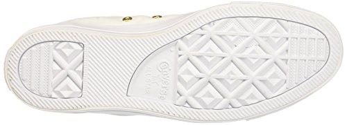 Ctas Alto a Sneaker Converse Gold Collo Hi Bianco Donna White White qd4wX