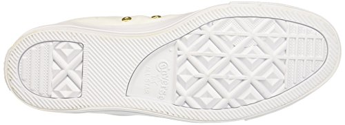 Blanc gold Ctas Sneakers white Converse Femme Hi white IvwCaqR