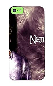 0ac134d1335 New Premium Flip Case Cover Neji Hyuuga Skin Case For Iphone 5c As Christmas's Gift
