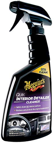 Meguiar's G13616 Quik Interior Detailer Cleaner – 16 oz. 4 Pack