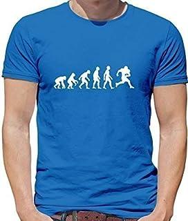 2c71d498 6TN Mens Evolution of American Football T Shirt: Amazon.co.uk: Clothing