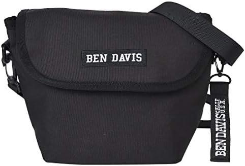 [ベンデイビス] BEN DAVIS ショルダーバッグ レディース 大容量 ミニショルダーバッグ メンズ レディース 7L 斜めがけ マザーズバッグ 黒