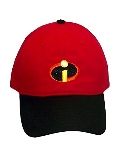 Disney Pixar The Incredibles Logo Adult Baseball Style Cap, One Size