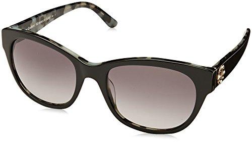 Juicy Couture Fashion Sunglasses - Juicy Couture Women's Ju 587/s Square Sunglasses, BLACK HAVANA, 53 mm