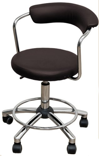 【前後左右に楽々移動】 パーソナル カウンターチェア 椅子 (ブラウン/BR) B06X3VP2C9 ブラウン/BR ブラウン/BR