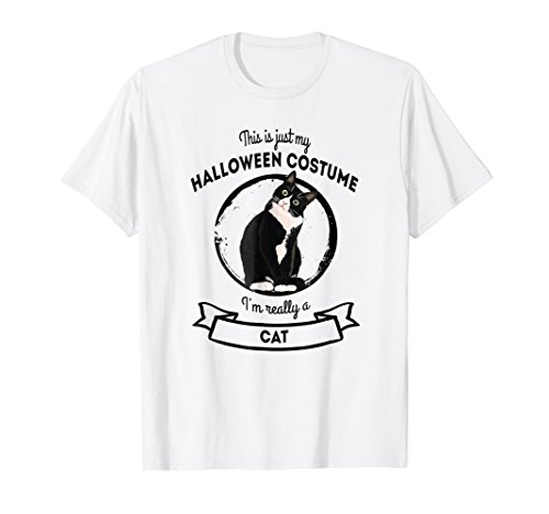 Cat Halloween Costume T-Shirt