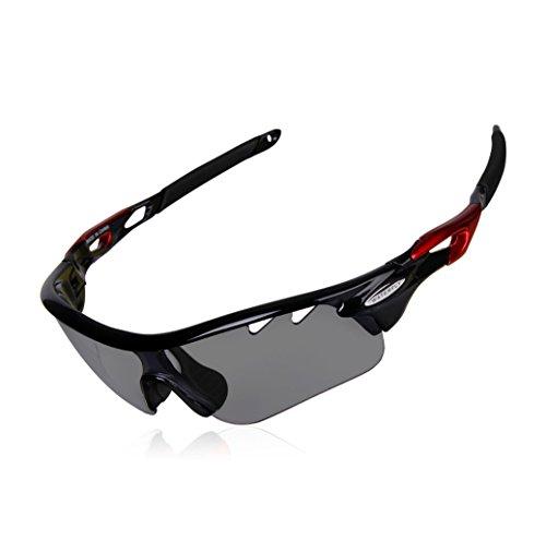 Photochromic Sunglasses, GARDOM Photochromic Safety Glasses Polarized for Men Women Cycling Fishing - Glasses Winter