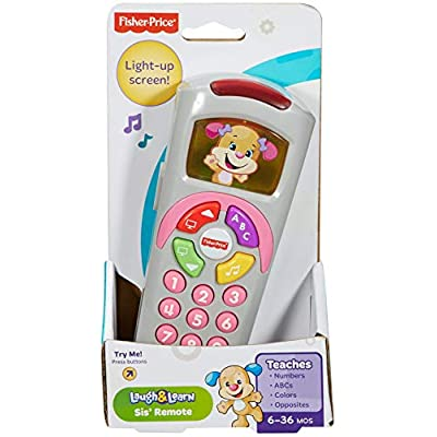 Fisher-Price Laugh & Learn Sis' Remote: Toys & Games