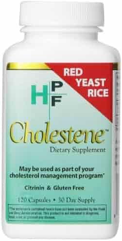 HPF Cholestene Red Yeast Rice, 120 Capsules