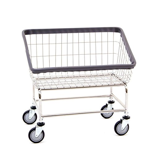 R&B Wire Products 200S Large Capacity Front Load Laundry Cart Front Loading Laundry Cart